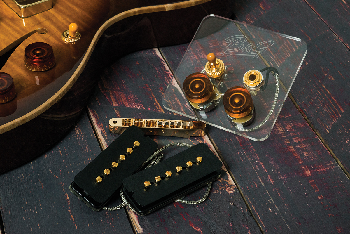 Bg Guitars Little Sister Crossroads Review All Guitar Wiring Also Gibson Es 335 Harness We Loved The Original So Much Were Both Excited And A Apprehensive About Bgs Move To Mass Production