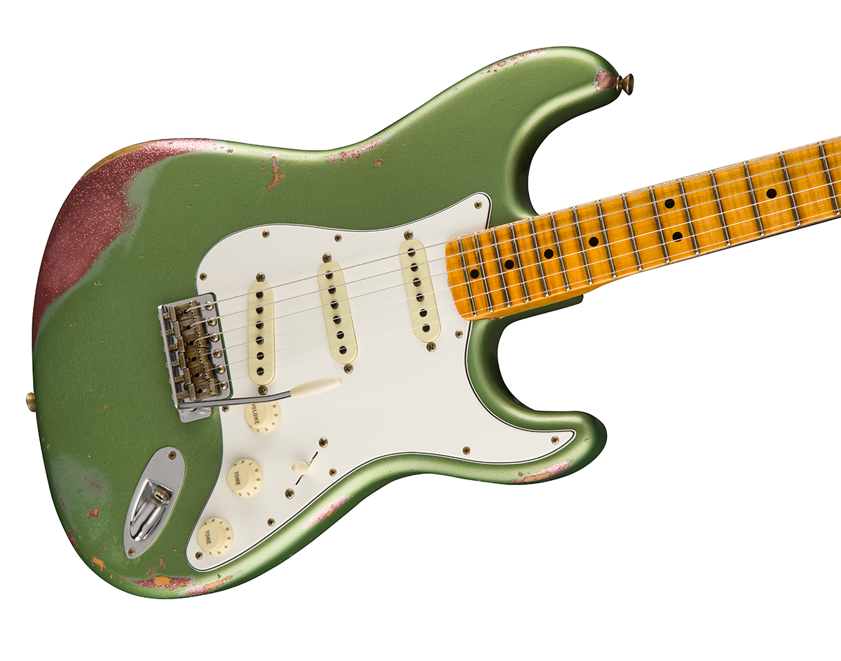 An Absolutely Gorgeous Guitar The Limited Edition Relic 64 Special Stratocaster Pops With A Unique Colour Over Finish