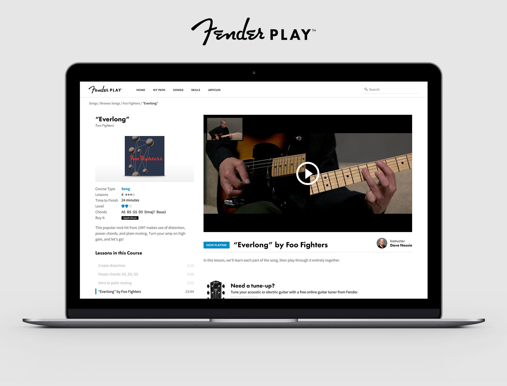 Fender Introduces Digital Learning Platform Fender Play The