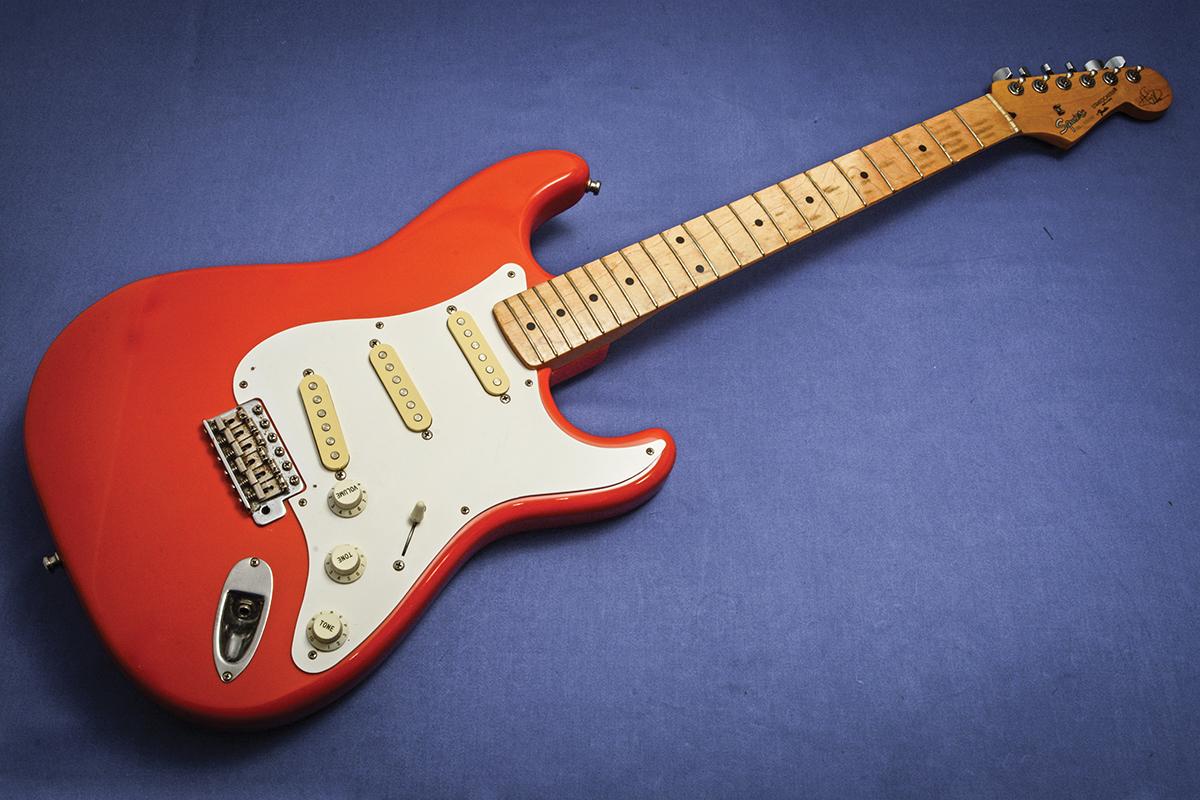 Fender Strat Wiring Harness Diy Reinvent Your Diagram 84 Shovelhead Hankcaster Conversion The Guitar Magazine Rh Theguitarmagazine Com Jeff Beck