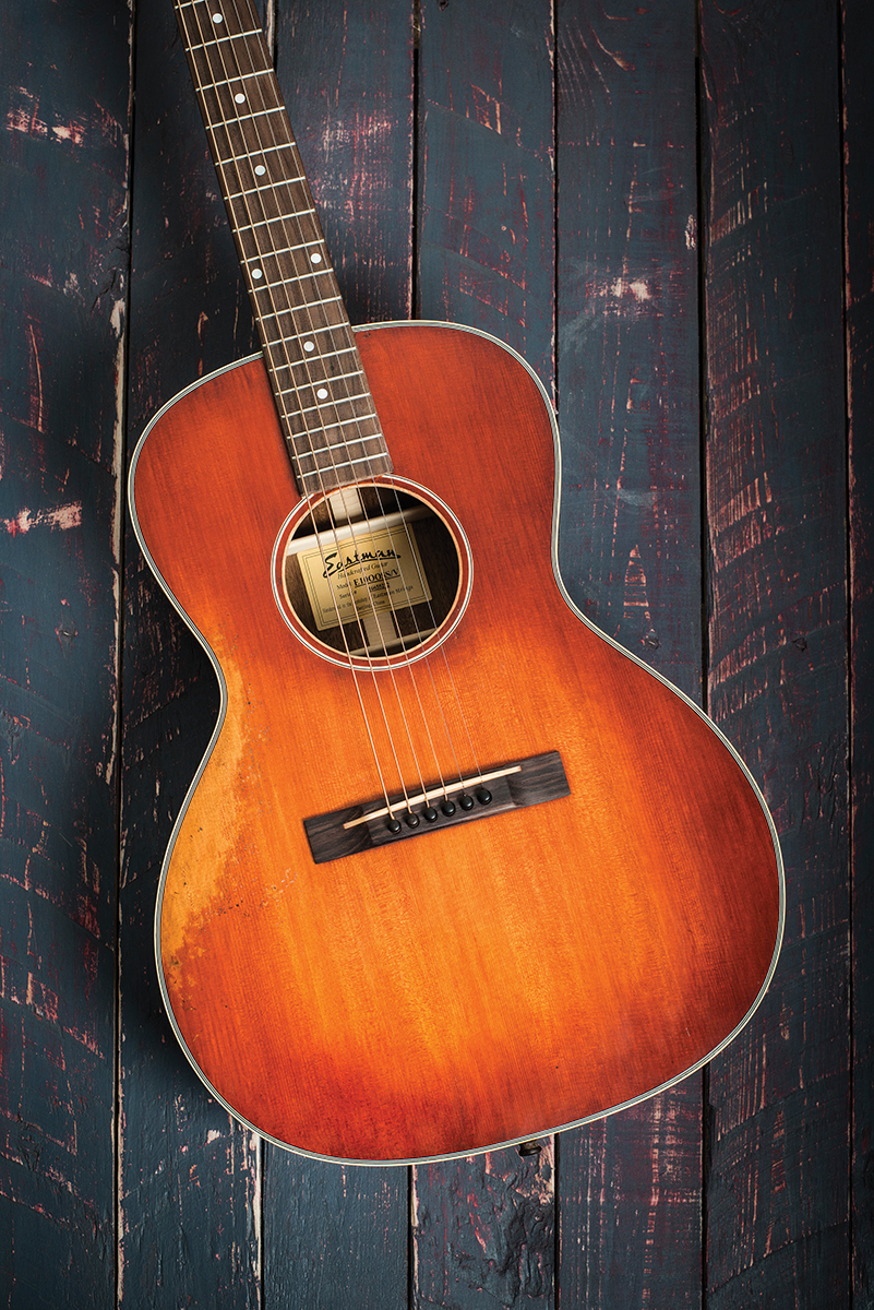 Eastman E10oossv The Guitar Magazine The Guitar Magazine