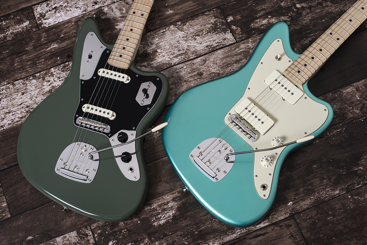 Fender American Professional Jazzmaster Jaguar The Guitar Picture Of How To Make A Circuit Board Pick