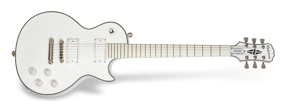 Epiphone launches all-white signature guitars