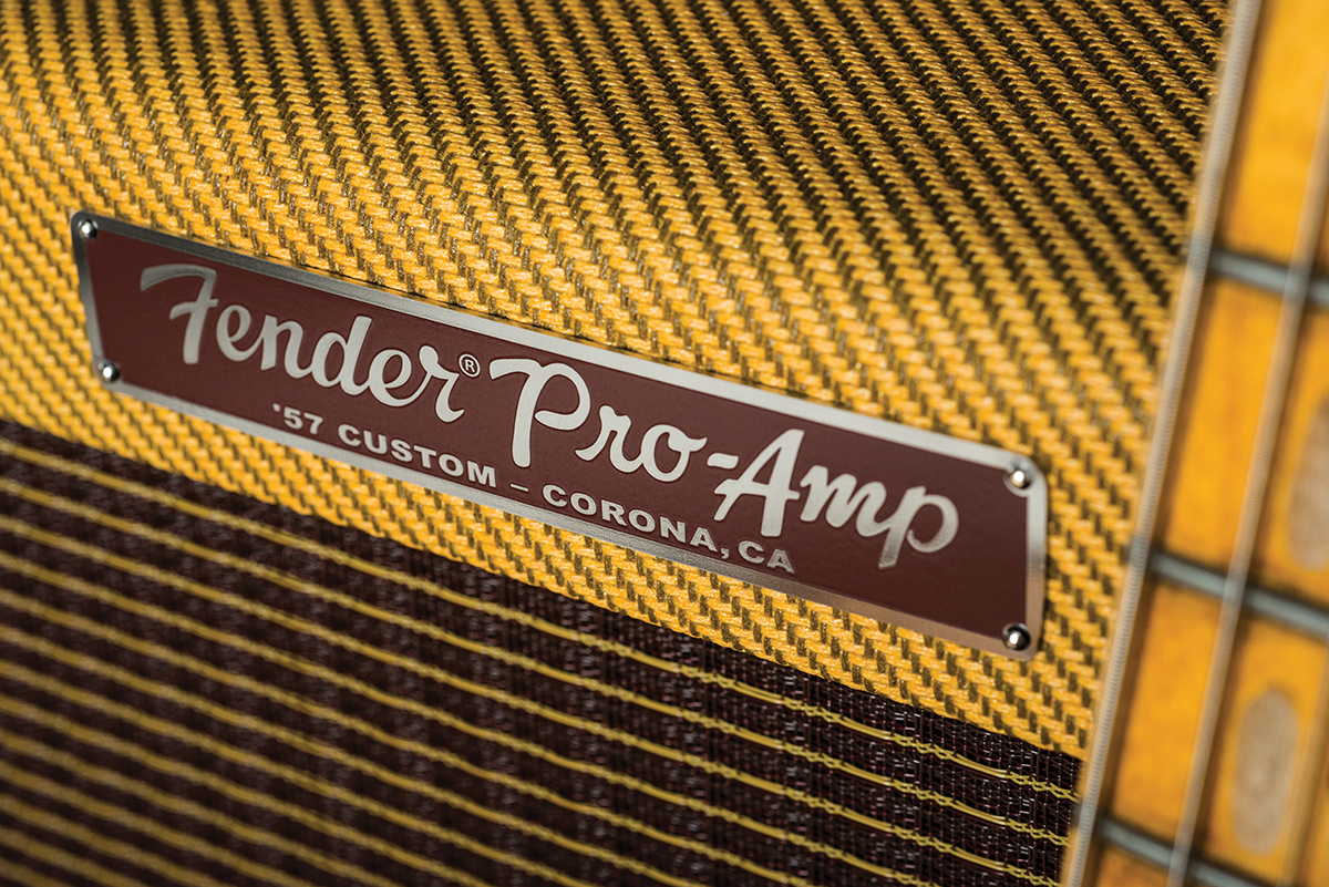 Fender 57 Custom Pro Amp Review All Things Guitar Pickup Wiring Diagram In Addition Single Coil Since A Tweed And Telecaster Is Regarded As Marriage Made Heaven Aka Fullerton Thats Where We Started Some Claim That 15 Inch Speakers Lack