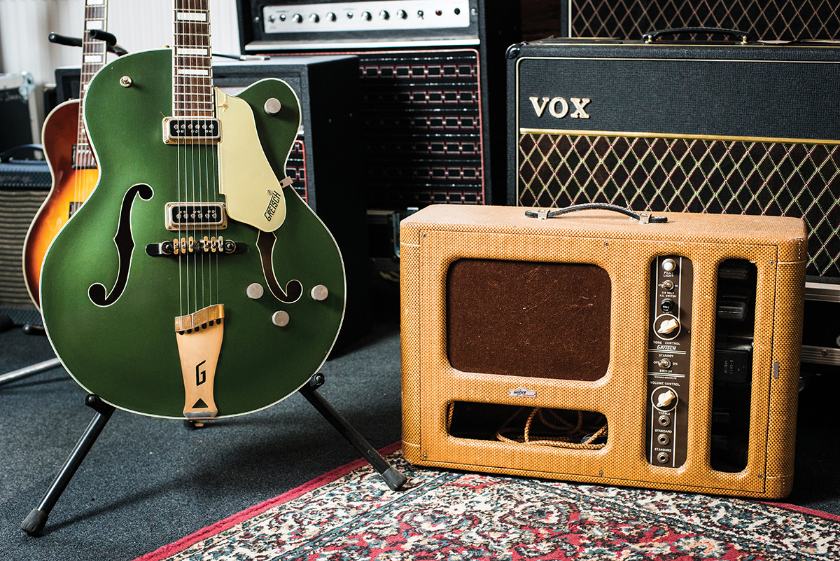 Classic Combinations: 1955 Gretsch Country Club & Electromatic Amp