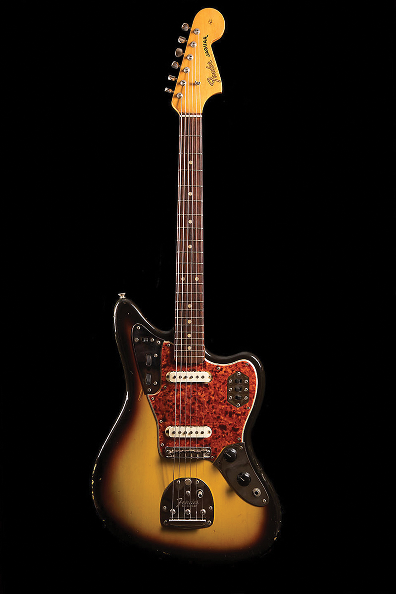 Vintage time machines 65 fender jaguar the guitar magazine fender offset guitars have enjoyed a resurgence in the past decade thanks to the popularity of indie rock bands who eschew the more classic body shapes sciox Images