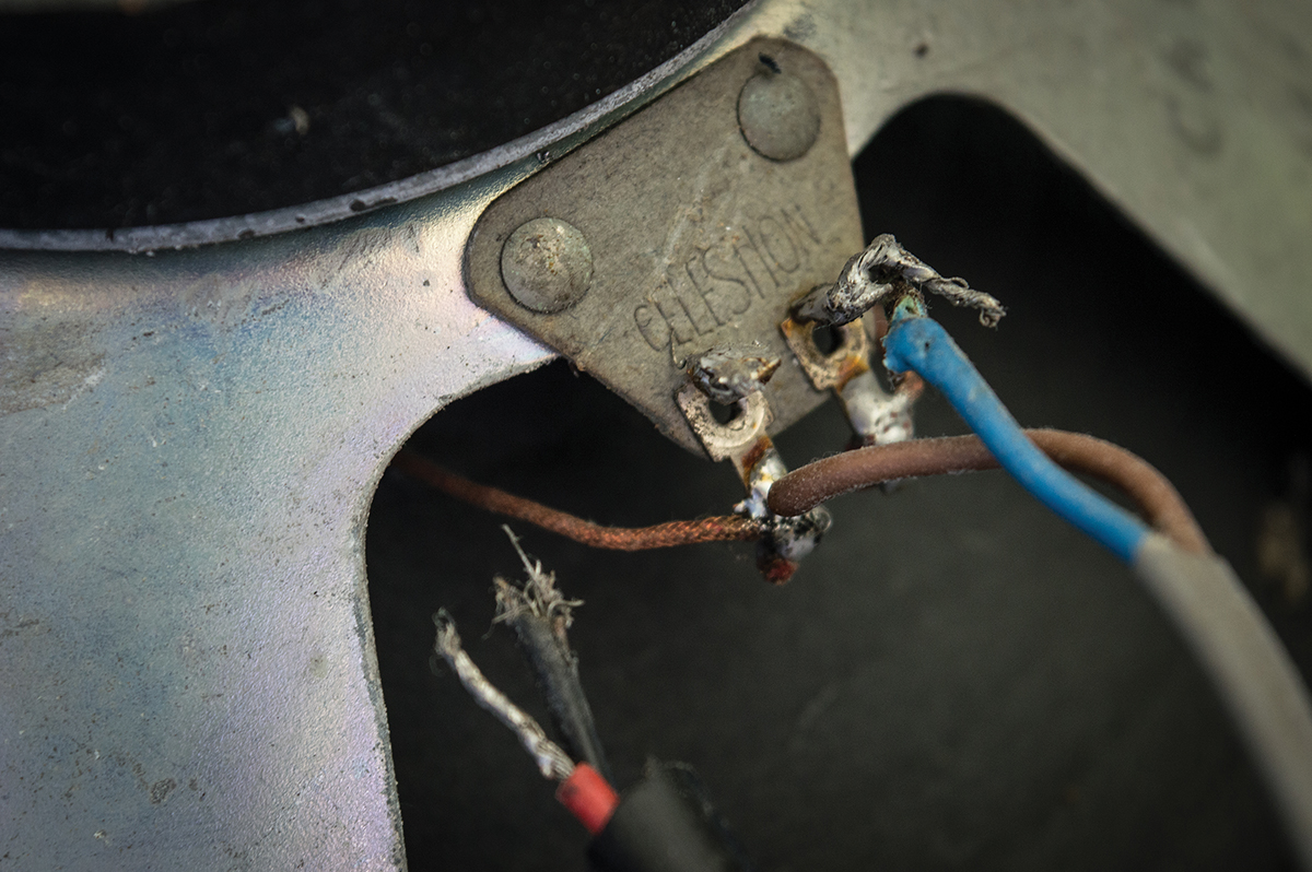 Diy Workshop Marshall 1930 Popular All Things Guitar Wiring Speakers Cabinet One Of The Celestion Had Somehow Become Disconnected