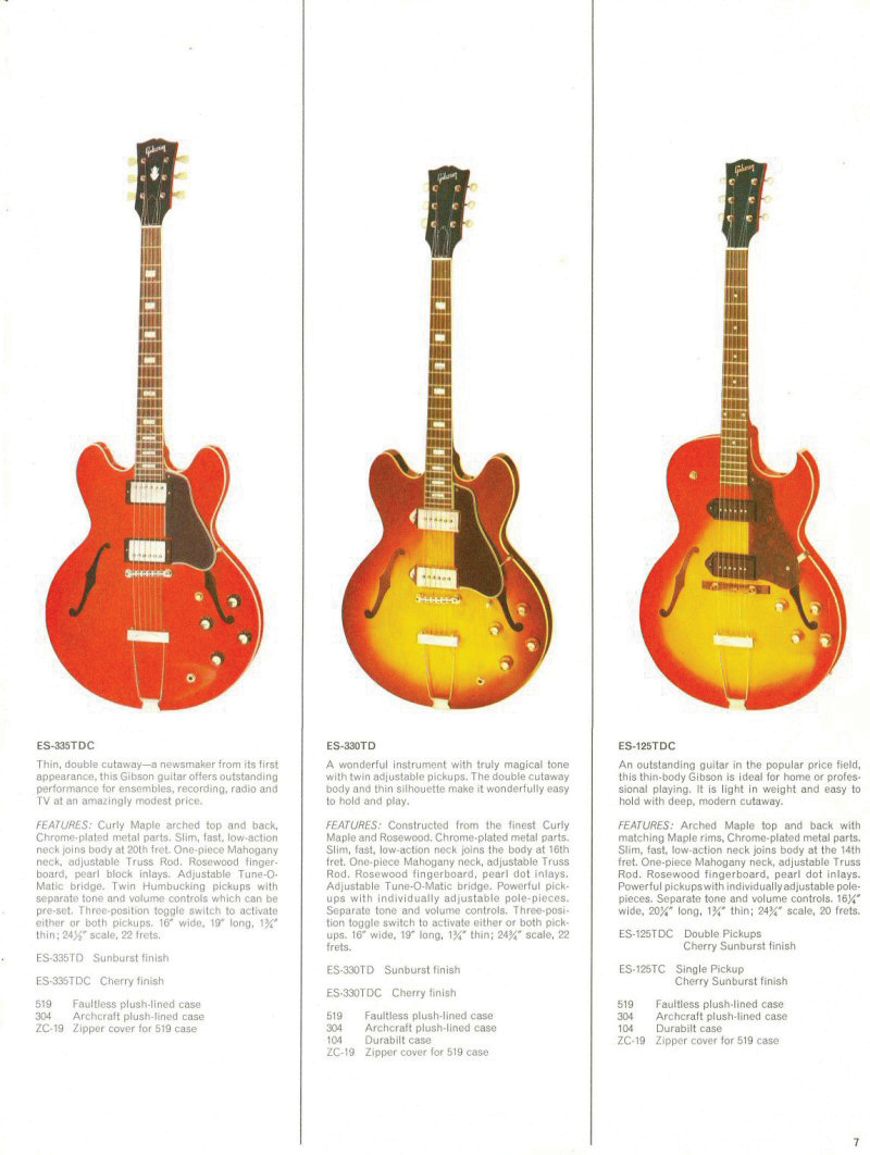 Revive Your 335 Get Pro Tone From Gibson Or Epiphone The Les Paul Wiring Diagram 50s Vs Modern As Well This Principle Wasnt A Million Miles Away Pauls Log Prototype That Rejected Shortly Before United States Of America Entered World War