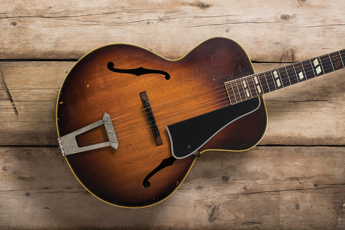 Vintage gibson l4 guitar