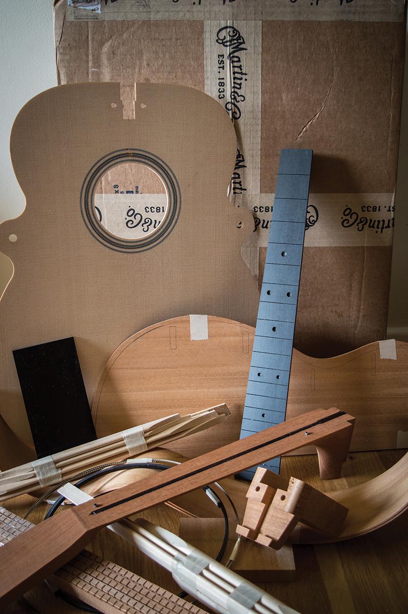martin acoustic guitar kit