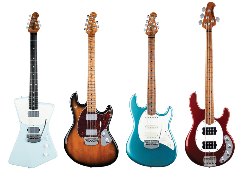 Ernie Ball Music Man unveils new guitars, basses
