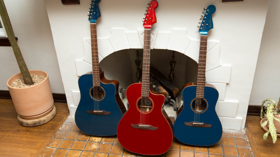 Fender introduces California series of acoustics