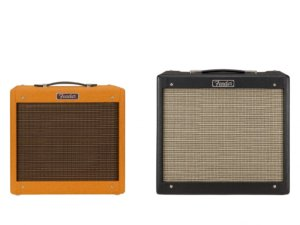 Fender Pro Jr and Blues Jr