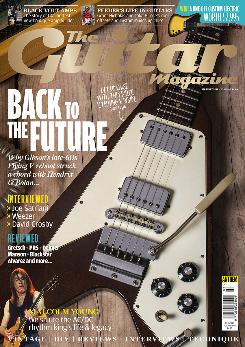 The February 2018 Issue Of Guitar Magazine Is On Sale Now Flying V Wiring Harness
