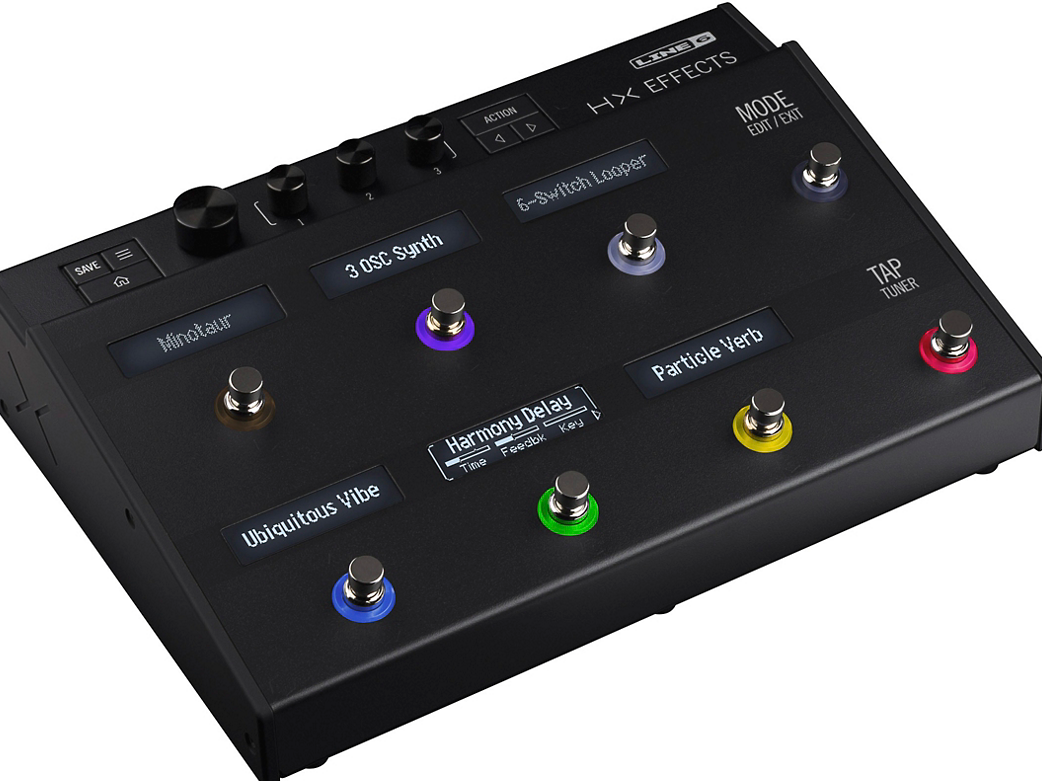 Line 6 unveils the HX Effects pedal