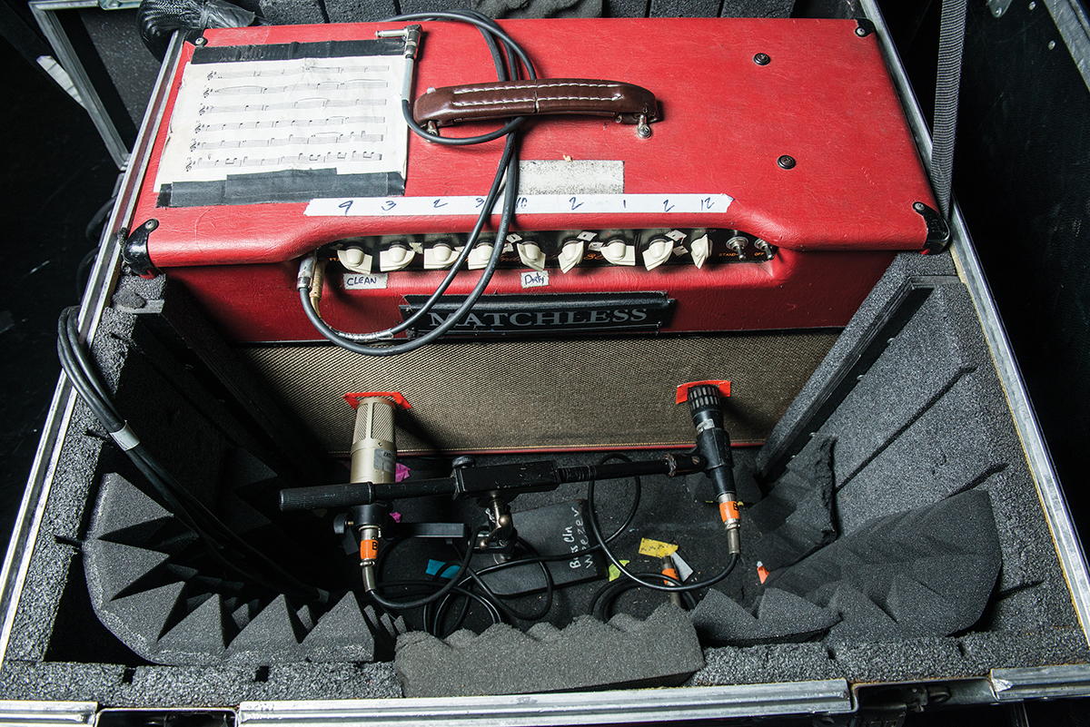 weezer brian amplifier matchless independence