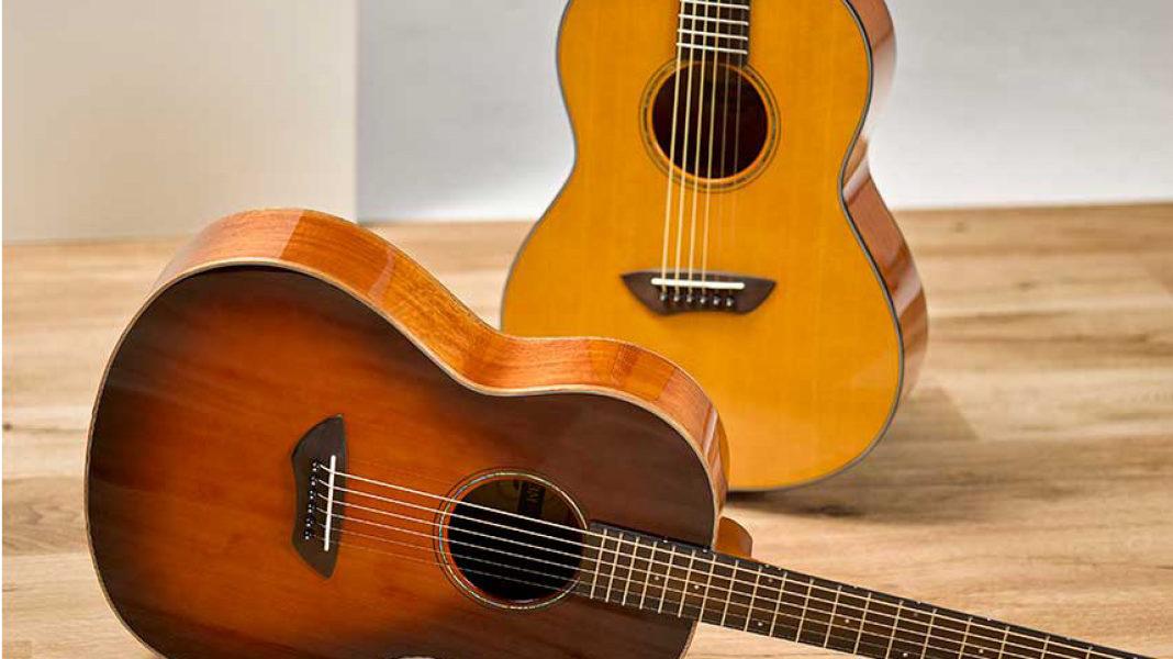 Yamaha reintroduces CSF series of acoustic parlor guitars