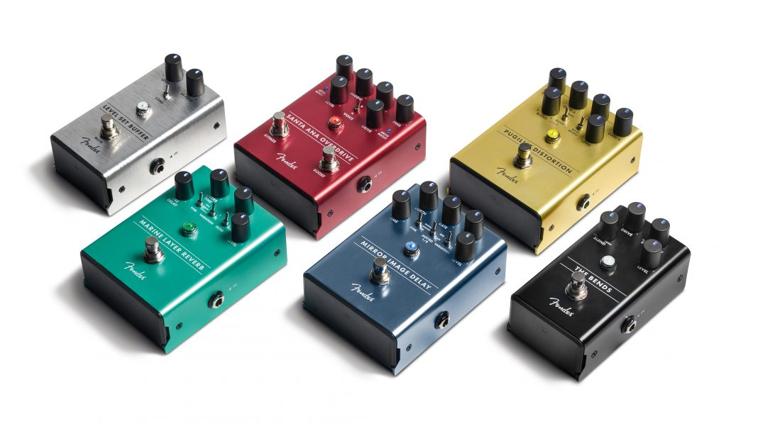 Watch the new Fender pedals in action