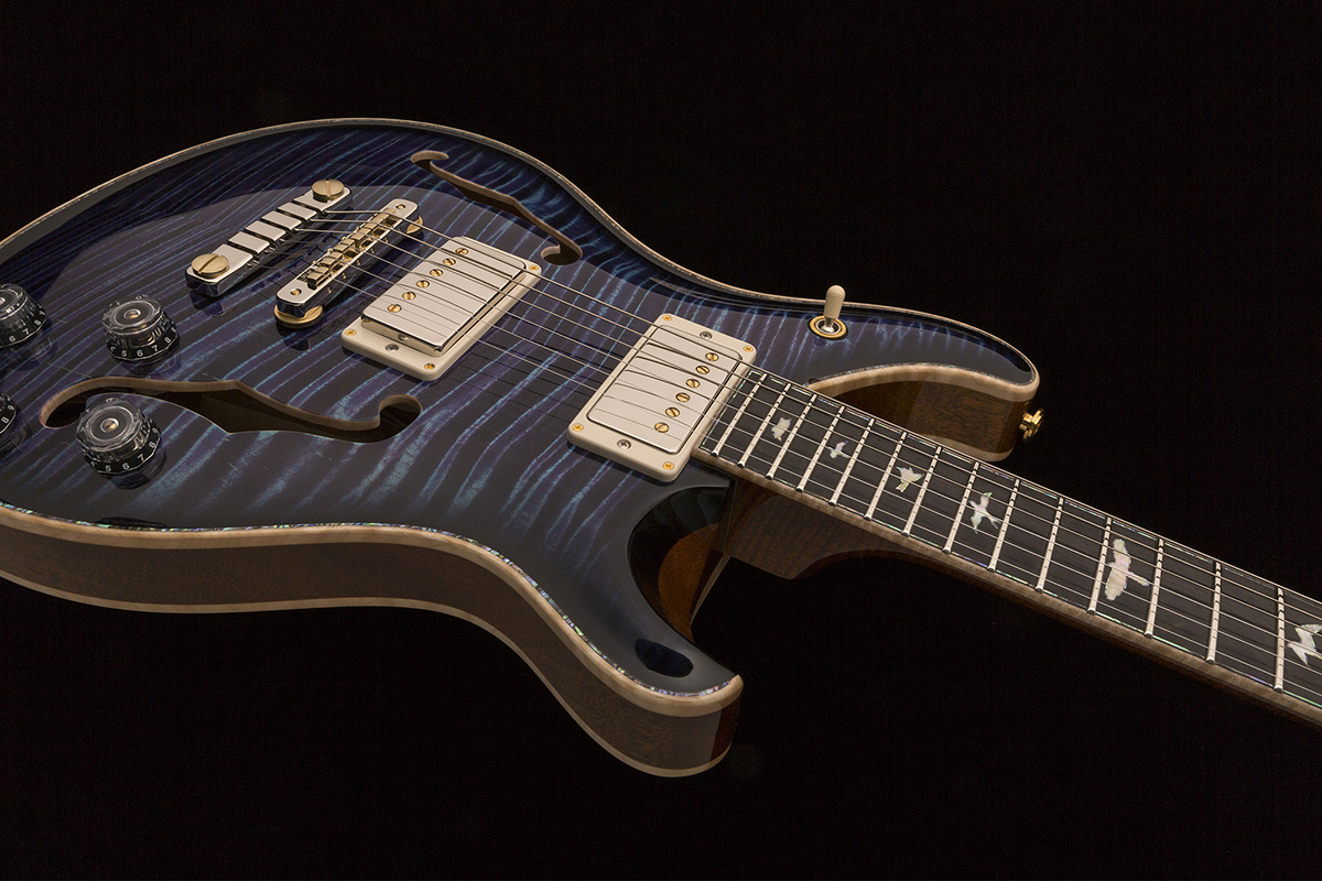 Namm 2018 Prs Guitars Private Stock Hollowbody Ii 594 Limited Guitar Only 60 Edition Instruments Will Be Made For More Information Please Visit Prsguitarscom Privatestock Or