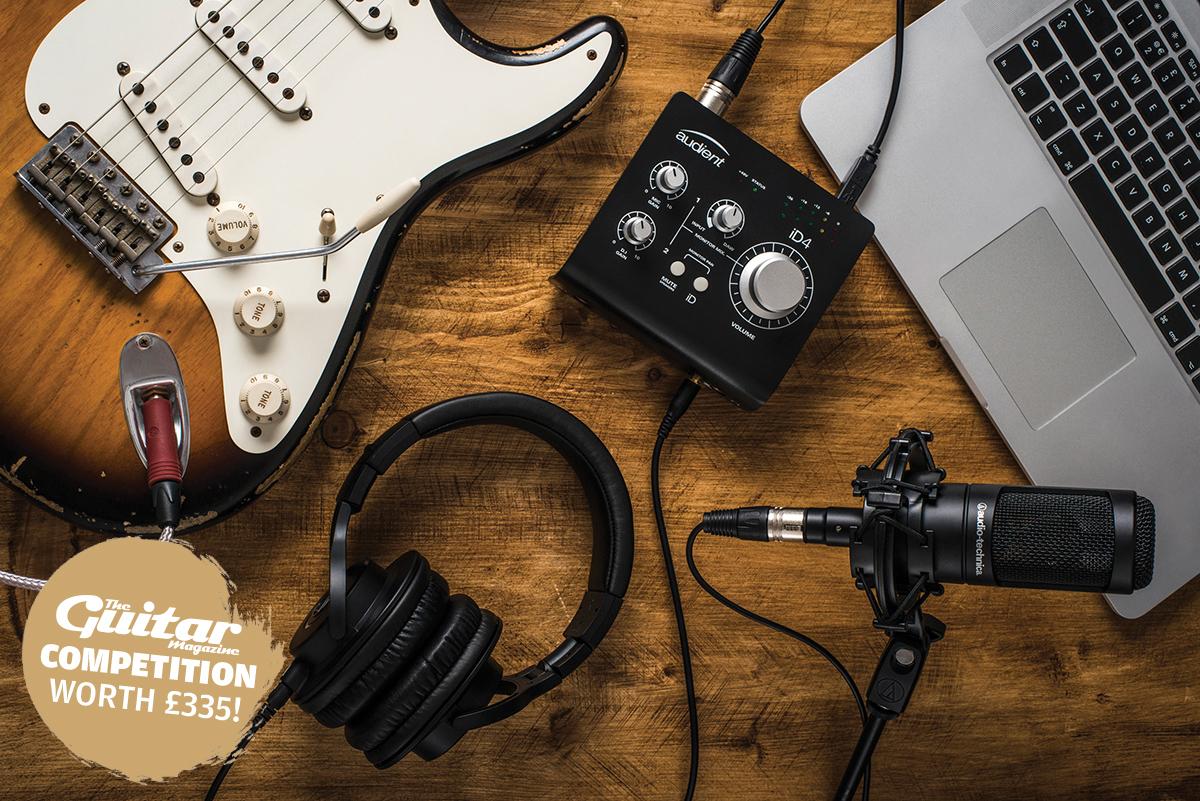 Win! A complete Audio-Technica home recording studio!