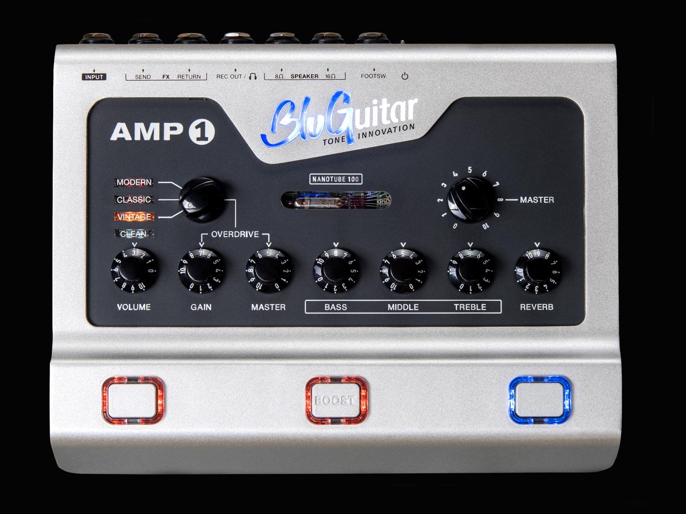 BluGuitar upgrades its popular AMP1 pedal