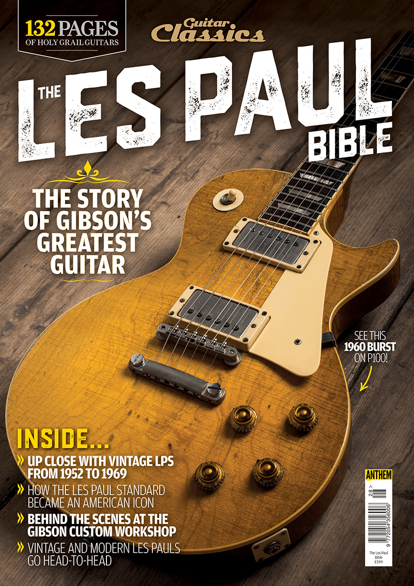 Guitar Classics The Les Paul Bible Is On Sale Now 2013 Gibson Standard Wiring Diagram Its 60 Years Since Released Sunburst Creating What Would Become Holy Grail For Electric Enthusiasts