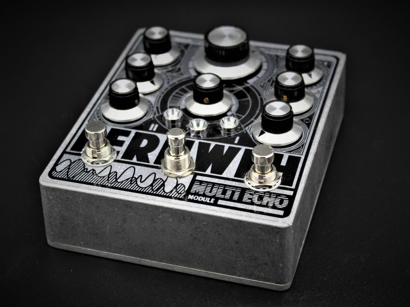 JPTR FX's new pedal packs two delays into one