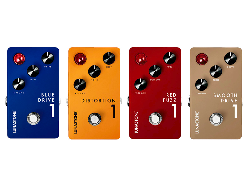 LunaStone launches range of drive pedals