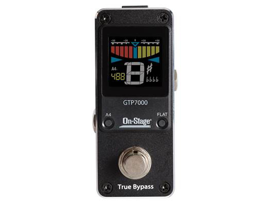 On Stage GTP7000 Chromatic Tuner Pedal