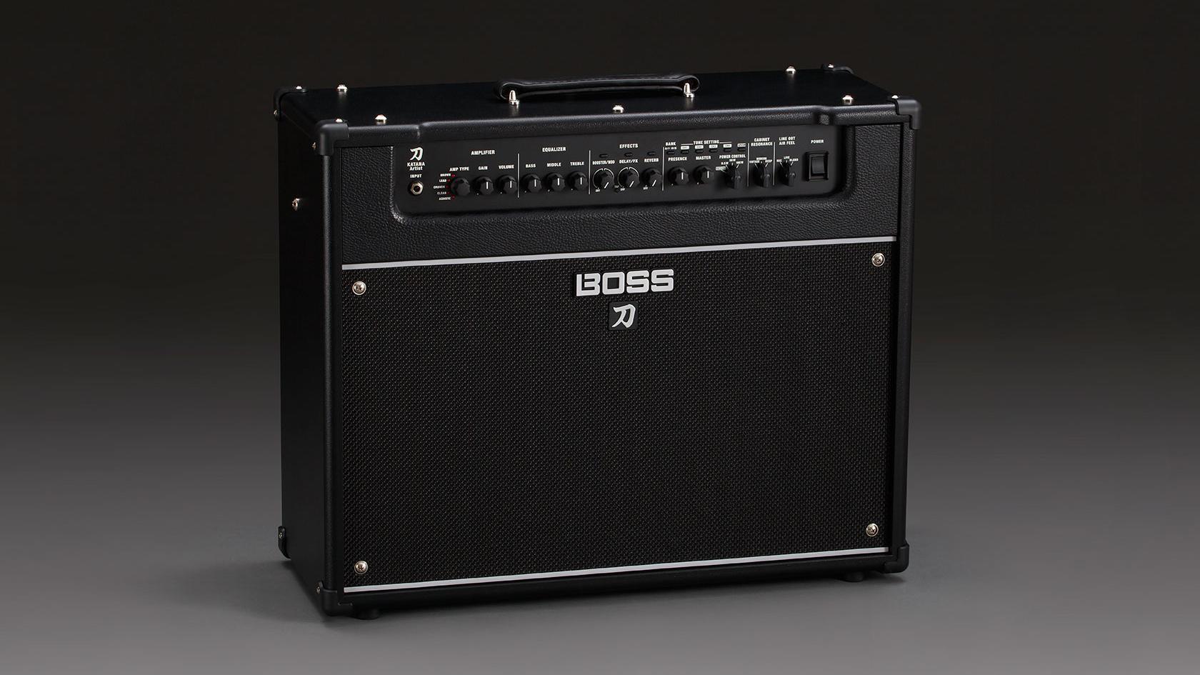 Boss releases the Katana-Artist guitar amplifier