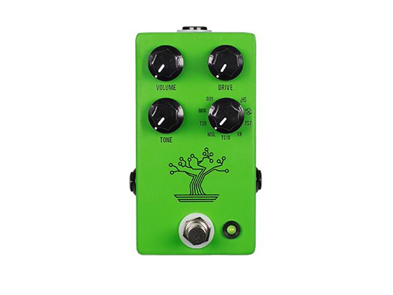 The JHS Bonsai crams nine Tube Screamers into one pedal
