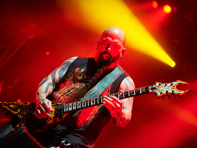 Kerry King of Slayer live