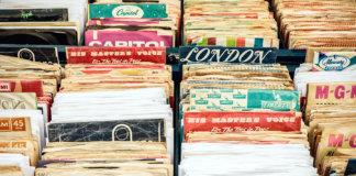 Vinyl records old