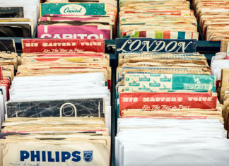 Vinyl records old