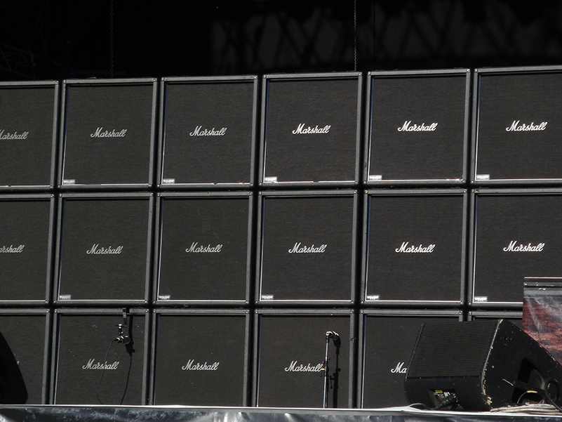 Marshall speaker stacks