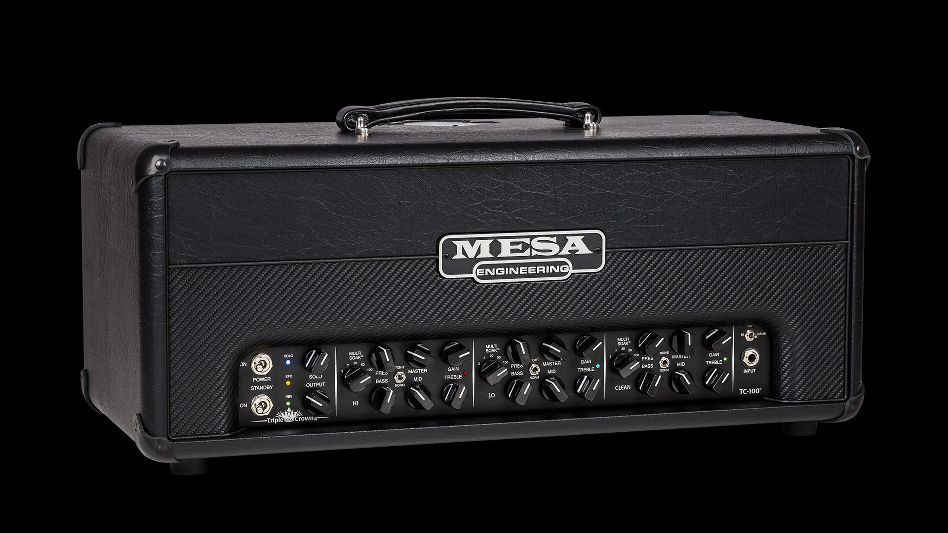 Mesa Boogie unveils the Triple Crown TC-100