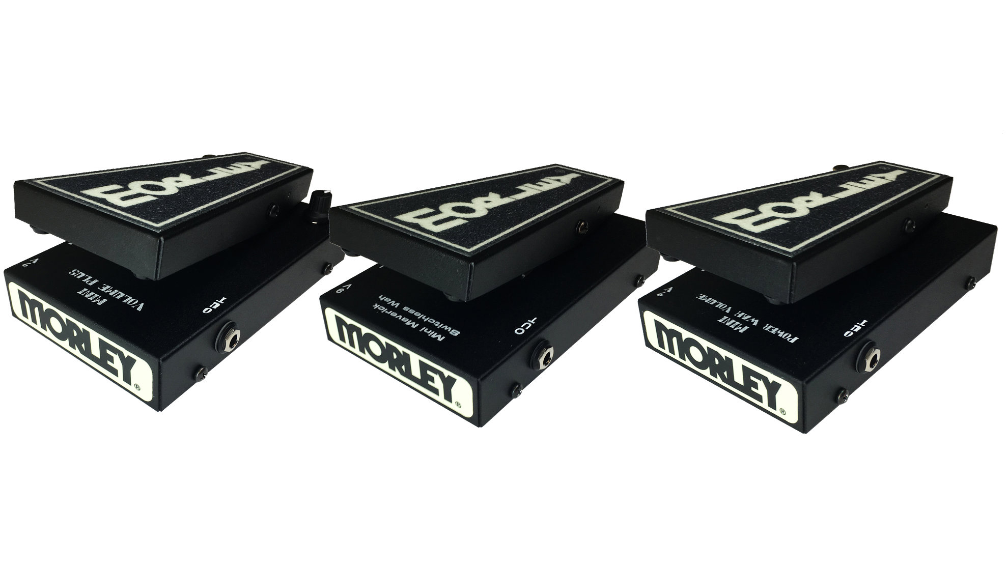 Morley introduces three new Mini pedals