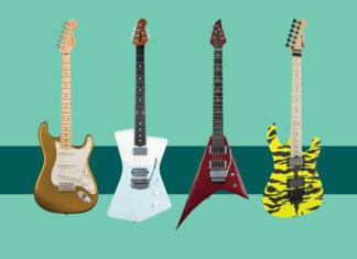 New electric guitars February 2018