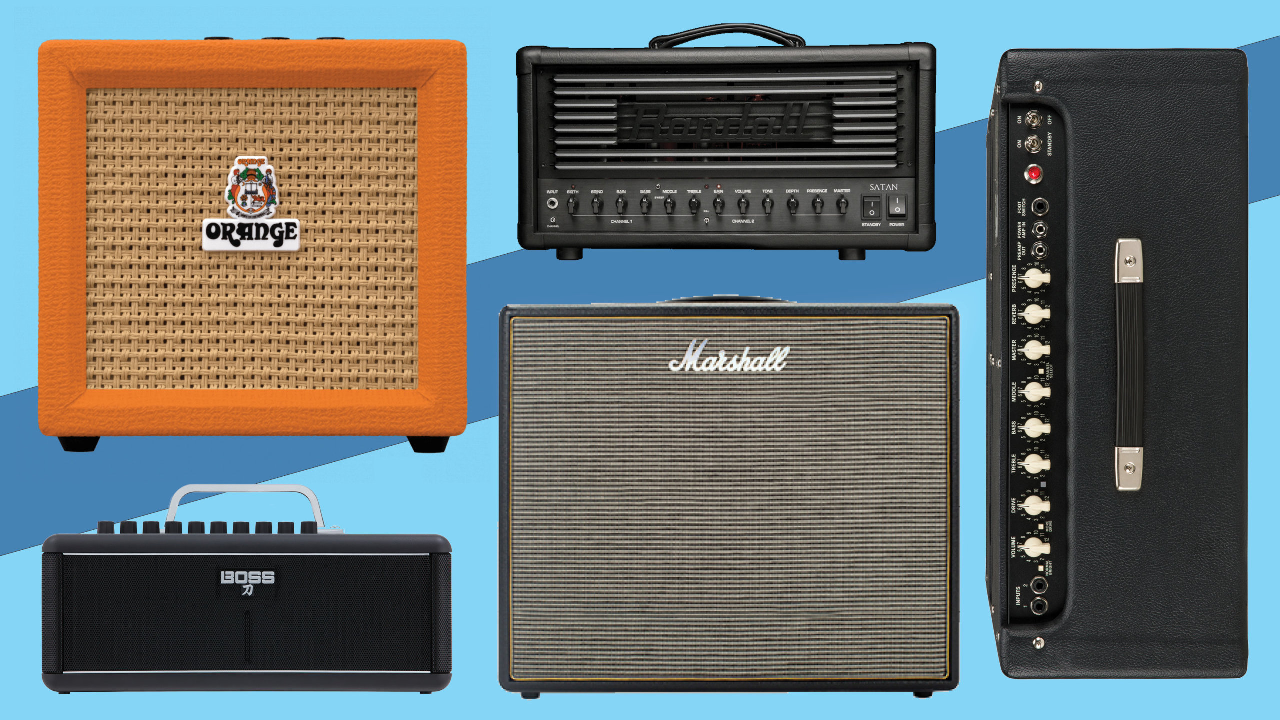 New electric guitar amplifiers: February 2018