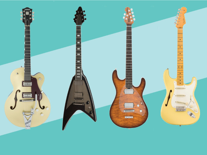 New electric acoustic guitars March 2018