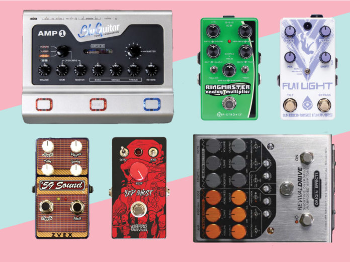 new pedals effects march 2018