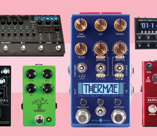 New guitar pedals February 2018