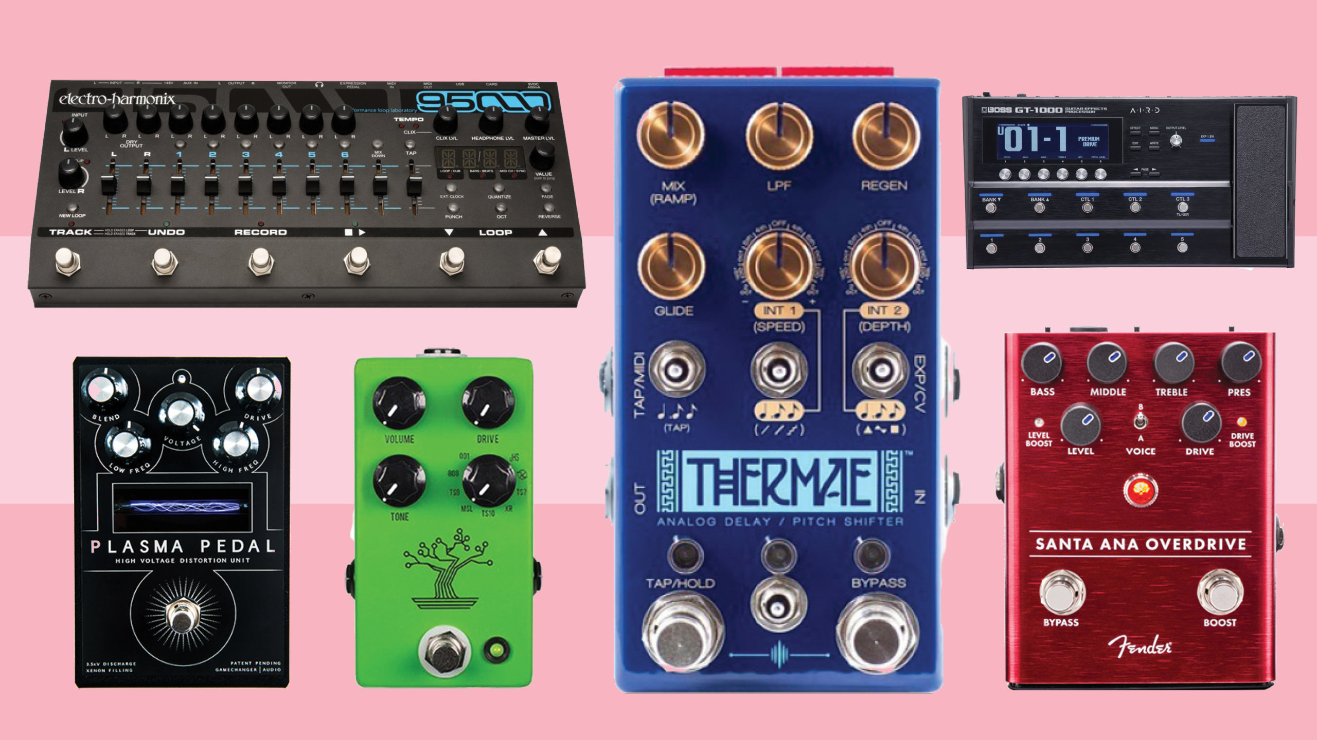 New pedals and effects units: February 2018
