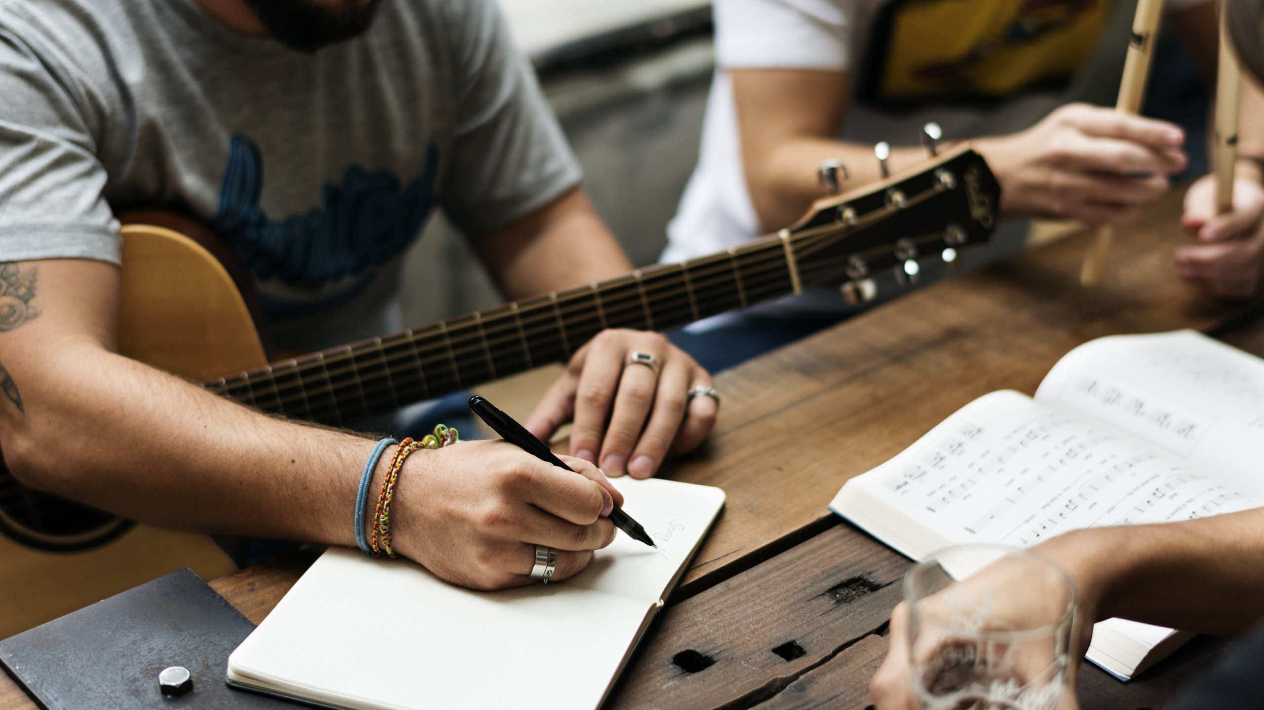 Songwriting 101: How the pros compose by improvising