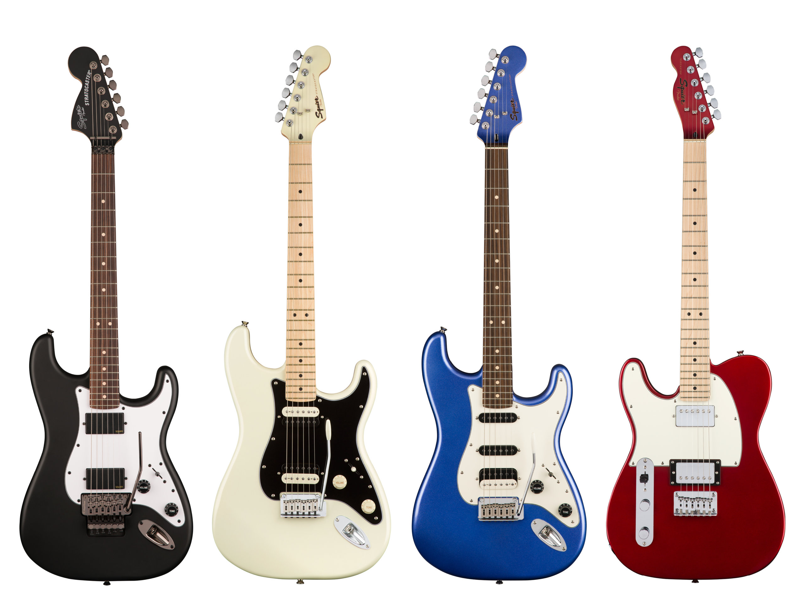 Squier dives into 2018 with new guitar line-up