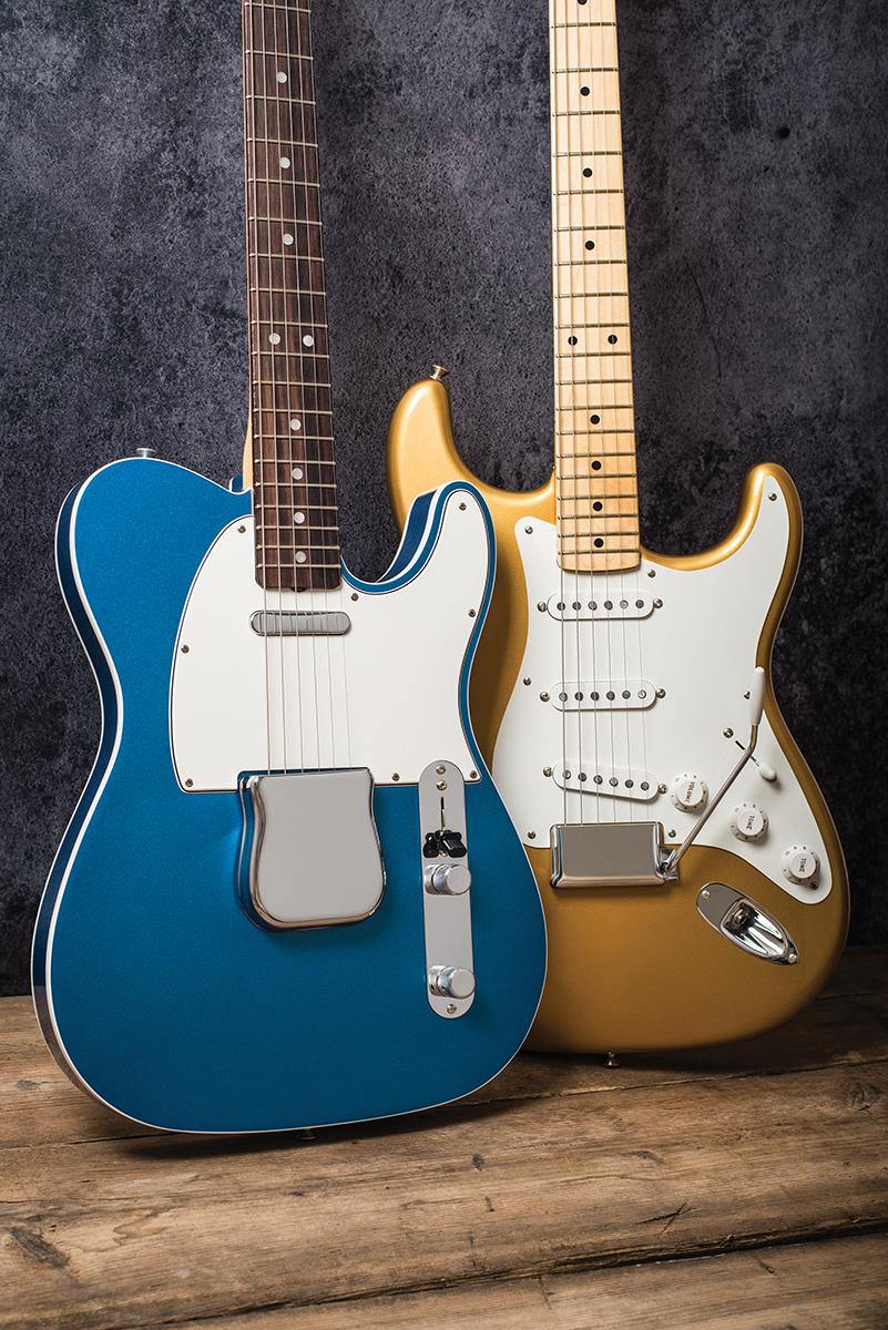 29_06 56 fender american original '60s telecaster & '50s stratocaster