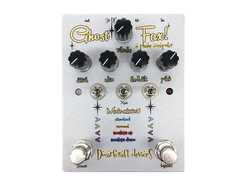 Dwarfcraft ghost fax phaser pedal