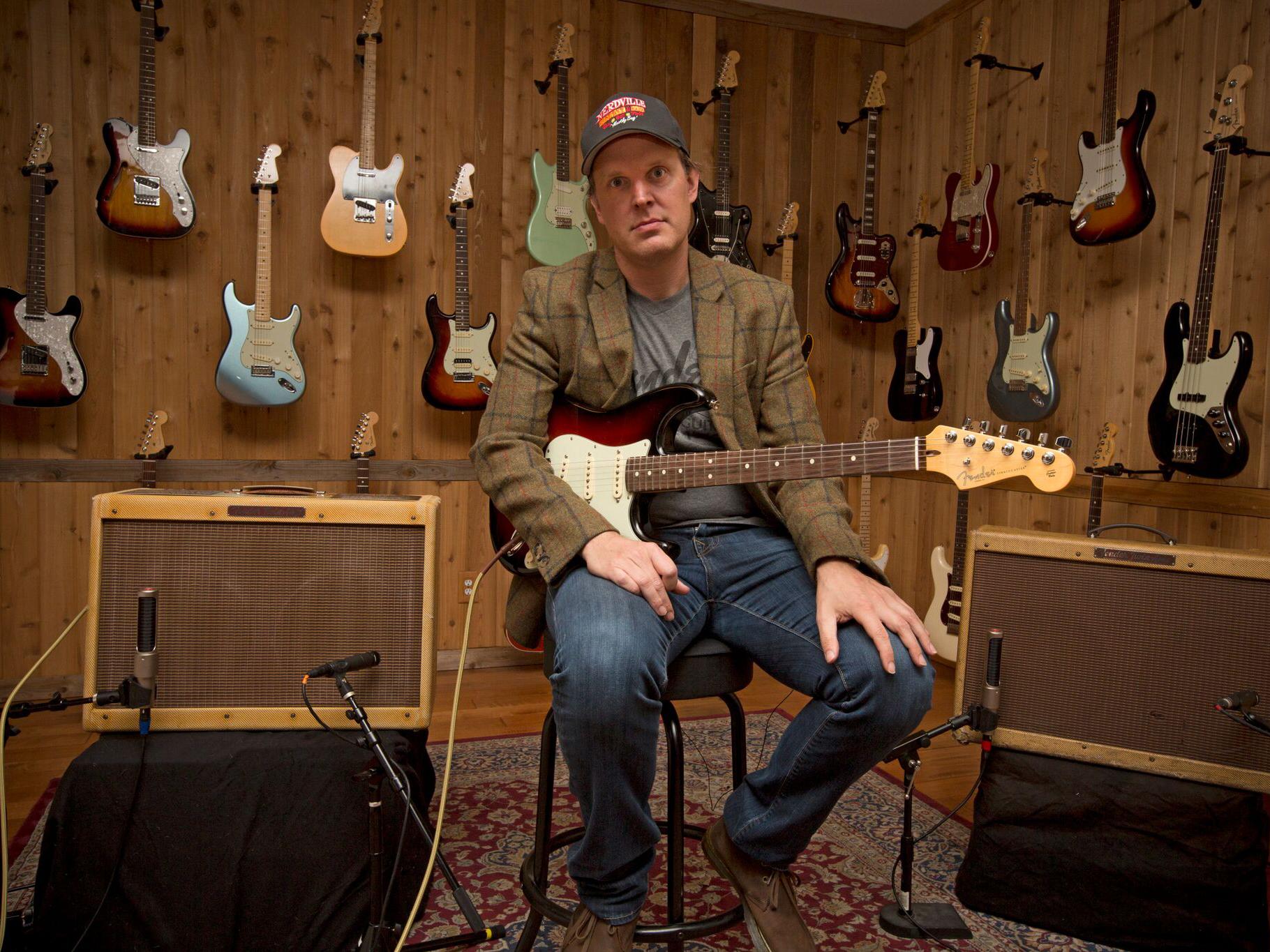 Joe Bonamassa has a new signature Fender amp