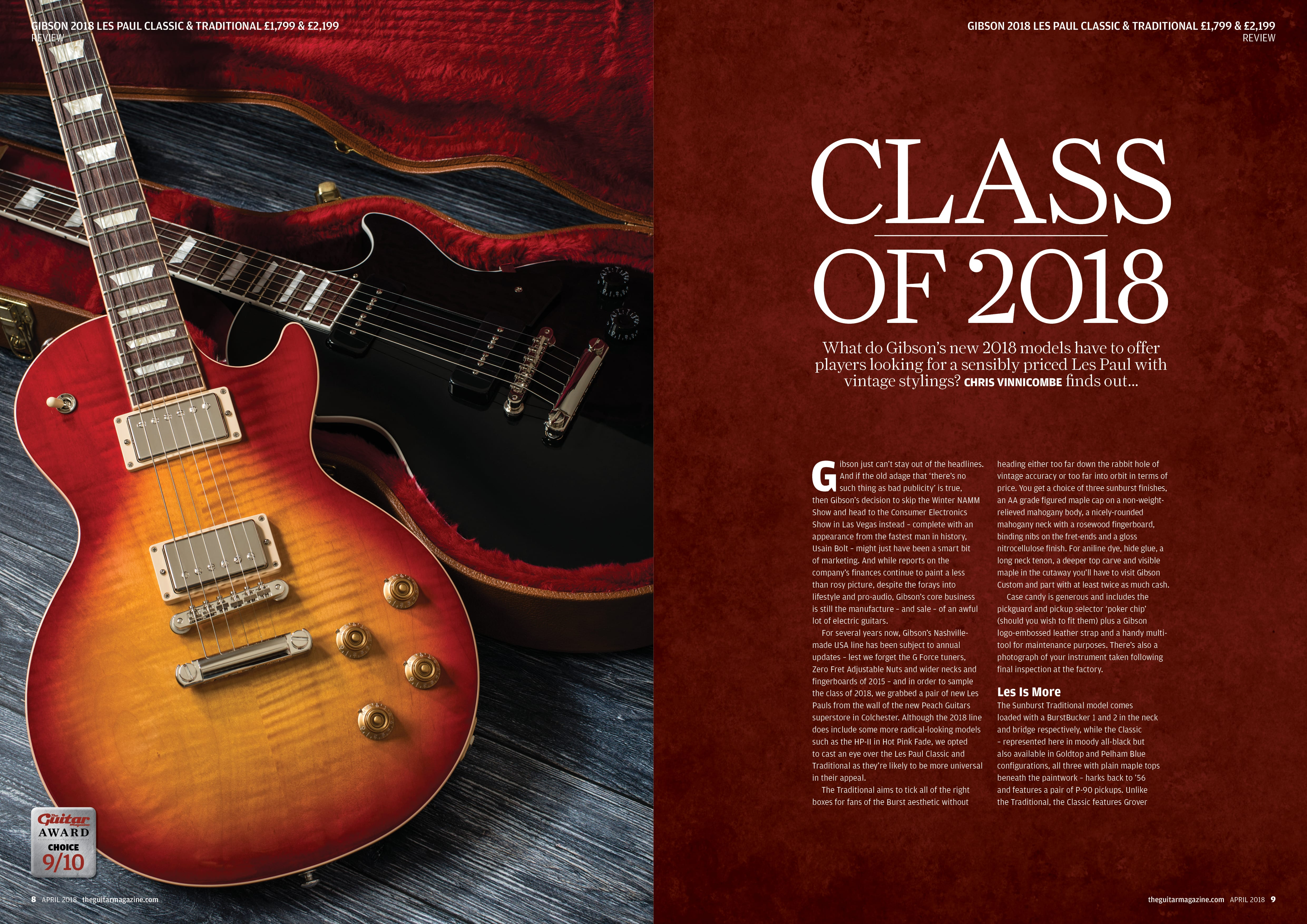 The April issue of The Guitar Magazine is on sale now