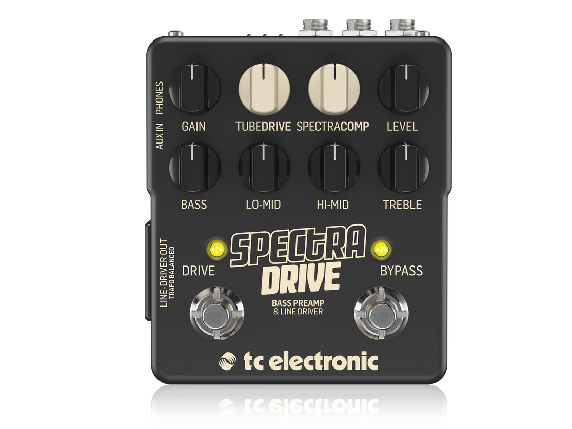 Own virtually any bass tone with TC Electronic's new SpectraDrive